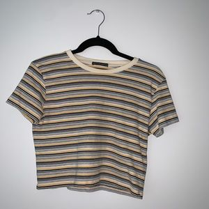 Brandy Melville striped short sleeve